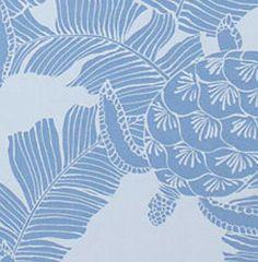 Fabric Blue Turtle Cotton Poplin