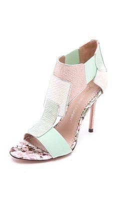 Jean-Michel Cazabat Octavia T Strap Sandals