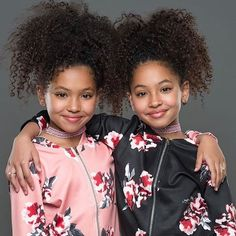Anais and Mirabelle Lee - Insta Stalker Black Twin Babies, Black Twins, Twin Girls, Cute Twins, Cute Baby Girl, Cute Babies, Beautiful Black Babies, Beautiful Children, Twin Outfits
