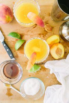 Peach Margarita (tequila)