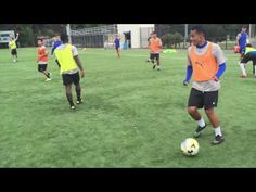 Soccer Defensive & Attacking Transition Session - YouTube