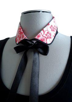 Col amovible chemisier fleurs  Mode japonaise - YEIHO