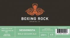 Boxing Rock Brewing Co in Shelburne, Nova Scotia