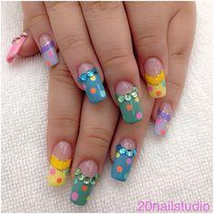 12 Stunning Polishes to Nail Your Summer Manicure Cute Nails, Pretty Nails, My Nails, Summer Nail Polish, Japanese Nail Art, Manicure, Nail Polishes, Pretty People, Nail Art Designs