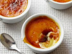 Creme Brulee Barefoot Contessa    One day I want to try making this.