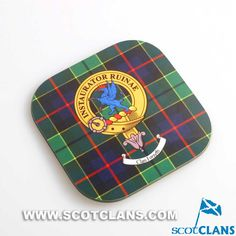 Forsyth Clan Crest Coasters