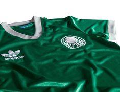 a96550ae46 Adidas lança camisas retrô do Palmeiras inspiradas nos anos 80 Camisas Do  Palmeiras