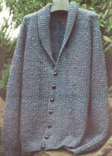 Sarah James pattern - Men Shawl Collar Jacket. $4.50