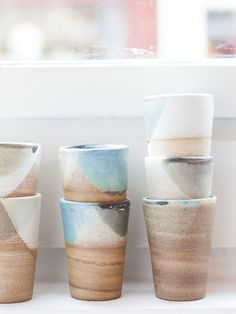 Ceramics by Dieuwke van der Mark available at Brainy Days