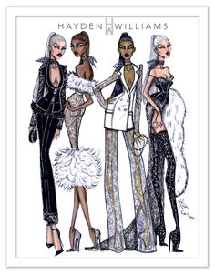 Hayden Williams Haute Couture AW16 collection