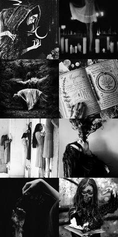 dark arts moodboard That old black magic has me in its spell That old black magic that you weave so well Badass Aesthetic, Gothic Aesthetic, Witch Aesthetic, Aesthetic Collage, Character Aesthetic, Black Aesthetic Wallpaper, Aesthetic Wallpapers, Dark Fantasy, Fantasy Art