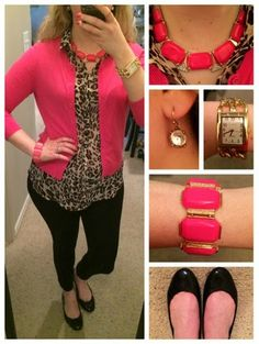 #Fashion Forward #Frugalista: On the Prowl in #Pink. #fashionblog #fashionblogger #fashionista #ootd #outfit #outfitoftheday #leopard #workoutfit #work #office #spring #spring2014 #springoutfit #outfitinspiration