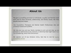We give counselling services to individuals, couples and families deal with and fix their personal, relationship, and family issues. We help people become ha. Family Deal, Family Issues, Your Family, Brisbane Queensland, Happy We, Personal Relationship, Counselling, Helping People, Mental Health