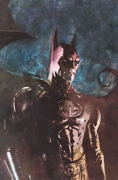 Batman by Bill Sienkiewicz *