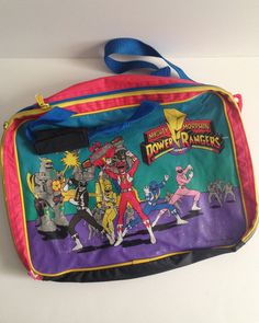 Mighty Morphin Power Rangers Lunch Bag and School Kit – ThingsIBuyForYouToThenBuy