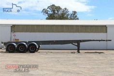 Freighter Semi 45/48FT Rear Push Out Skel
