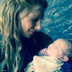 Lagertha with baby Siggy