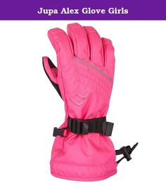 Jupa Alex Glove Girls. Wrap those colorful Jupa Alex Ski Gloves around your poles point your tips and take off! These ski gloves will protect you from wind and snow on the way down thanks to the 10K waterproof/5K breathable Dridux reg construction The 170g Thermadux reg insulation package keeps your hands warm from the howling cold The brushed tricot lining feels so soft on the skin you wonGÇÖt want to take these off until your hands are overheating by the fire 100pct polyester brushed...
