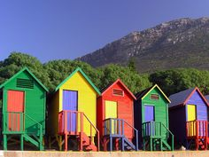 Cape Town--I walked there one might with some friends--so cute!