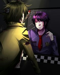 Now is My Form... Springtrap and Purple Guy