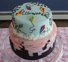 Mary Poppins Birthday Cake — Birthday Cake Photos