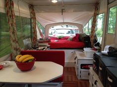Awesome pop up camper makeover.