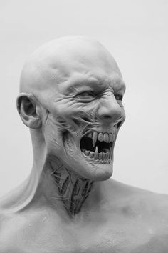 A stunning 'Dracula Untold' concept sculpt by the phenomenal prosthetic makeup artist Josh Weston