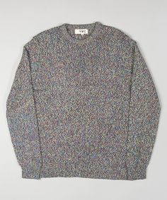 YMC Tweed Crew Knit Tartan – The Great Divide