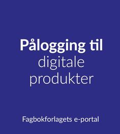 Fagbokforlaget - Fagbokforlaget.no Portal, Calm