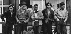 Drugstore Cowboys by Gordon Parks. 1955. (view in High Resolution. It's a great photo.)