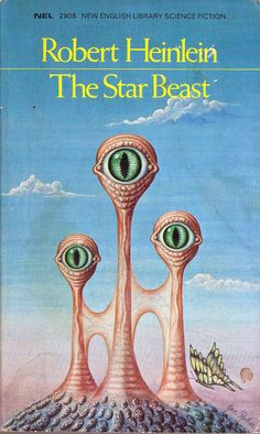 The Star Beast by Robert Heinlein. NEL Cover art Jan Parker by pulpcrush… Science Fiction Books, Pulp Fiction, Fiction Novels, Book Cover Art, Book Art, Lois Mcmaster Bujold, Classic Sci Fi Books, Vintage Book Covers, Illustrations