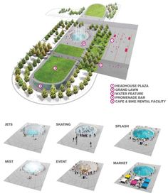 Plan, Gateway Park (Image: James Corner Field Operations)