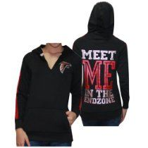 Womens NFL Atlanta Falcons Athletic Pullover Hoodie by Pink Victorias Secret