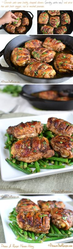 Black Pepper Roasted Chicken Recipe- PictureTheRecipe.com
