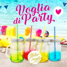 Cosa c'è di meglio di un #drink con gli amici, al mare, in piscina, in giardino... #cool & #colour ad ogni sorso! #partyinspiaggia #beachparty #swimmingparty #partyinpiscina #partyingiardino #drink #cooldrink #bombonierematrimonio #bombonierefaidate #weddingplanner #weddingplanning #eventplanner #partyfaidate