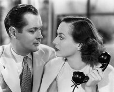 Joan Crawford and Robert Montgomery in No More Ladies (1935)