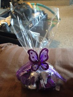 Butterfly kisses! Great favors for a baby shower or wedding.
