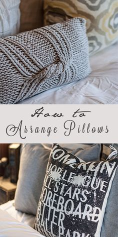 Pillows are a simple and inexpensive way to update your living space, without redecorating your entire living room. Here are a few rules to follow, when arranging your pillows, to ensure you have a...
