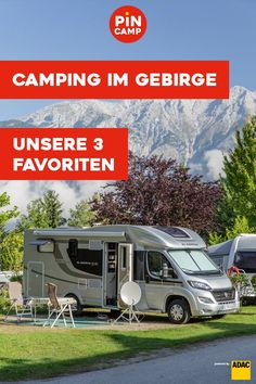 Ob Sommer oder Winter: Camping im Gebirge ist einfach traumhaft! 3 Gebirge mit Spitzen-Campingplätzen findet ihr hier. Bergen, Van Life, Recreational Vehicles, Road Trip, Tours, Travel, Munich, Den, Rv Camping