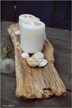 Pillar Candles, Tea Lights, House Design, Driftwood, Diy, Bricolage, Tea Light Candles, Drift Wood, Diys