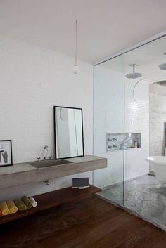 Image result for BLACK CONCRETE COUNTERTOP AND INTEGRATED BASIN