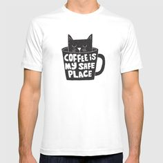 @society6 #coffee #drink #beverage #morning #cat #funny #illustration #fashion #style #tshirt #shirt #clothing #accessory #accessories #gift #idea #buy #shop #shopping #sale #fun #art #awesome