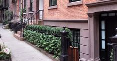 Greening Stone offers brownstone landscape design in NYC. Contact us for landscaping and backyard design in New York City. Luxury Landscaping, Backyard Landscaping, Landscaping Design, Townhouse Garden, Boxwood Hedge, Outdoor Flowers, Garden Landscape Design, Landscape Pictures, Green Stone