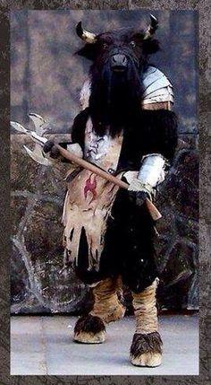 Minotaur Costume ..SIC!