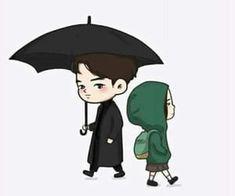 : Goblin//Kore Dizi Yorumu^^ - Movie And Comic Chibi, Goblin Korean Drama, F4 Boys Over Flowers, Goblin Art, Goblin Gong Yoo, Yoo Gong, Dibujos Cute, Korean Art, Kpop