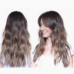 Sombré smile Natural brunette tones Hair color by Ivan Klaic #hair #haircolor #haircut #hairstyle #hairstylist #balayage #naturalhair #sunkissed #bronde #wavyhair #midlenght #hairsalon Brown Sombre, Cut And Color, Pretty Hairstyles, Hair Cuts, Hair Color, Make Up, Long Hair Styles, Instagram Posts, Smile