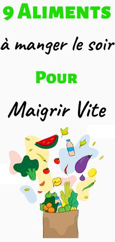 Voici une liste des 9 meilleurs aliments à manger le soir pour maigrir rapideme… Here is a list of the 9 best foods to eat in the evening to lose weight quickly weight Nutrition Education, Nutrition Month, Proper Nutrition, Nutrition Guide, Nutrition Plans, Diet And Nutrition, Holistic Nutrition, Complete Nutrition, Nutrition Pyramid