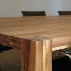 Conference table / contemporary / wooden / rectangular - HINDRIK LANGSHOUT - Pilat & Pilat