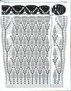 Maravilhas do Crochê: Sobretudo de crochê_Modelo Russo