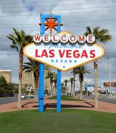 Famoso cartel de bienvenida a esta ciudad de Nevada, elija su hotel en Las Vegas y...¡Bienvenido! #Vegas